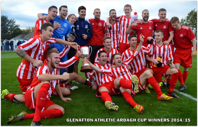 Glenafton Athletic Ardagh Cup Winner 2014/15