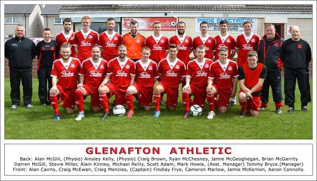 Glenafton Athletic 2013/14