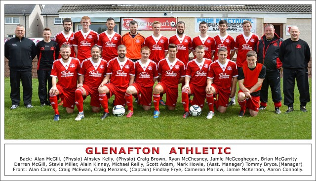 Glenafton Athletic 2013/14