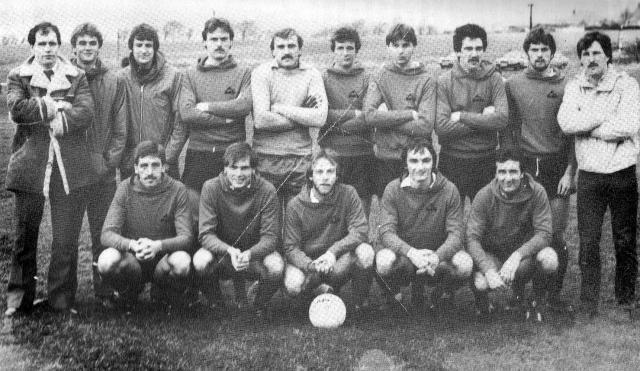 Glenafton Athletic 1982/83
