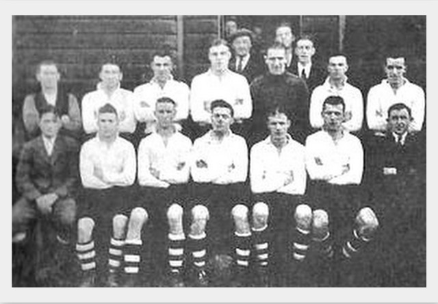 Glenafton Athletic 1934/35