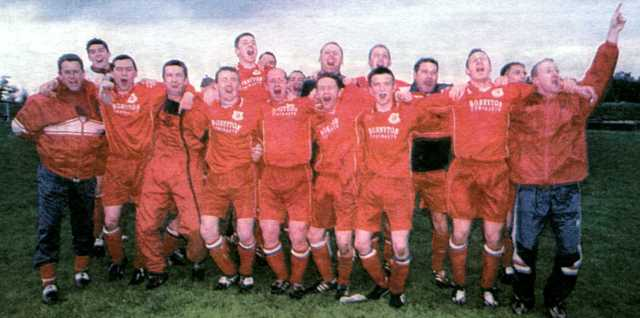 Glenafton Athletic 2001/02