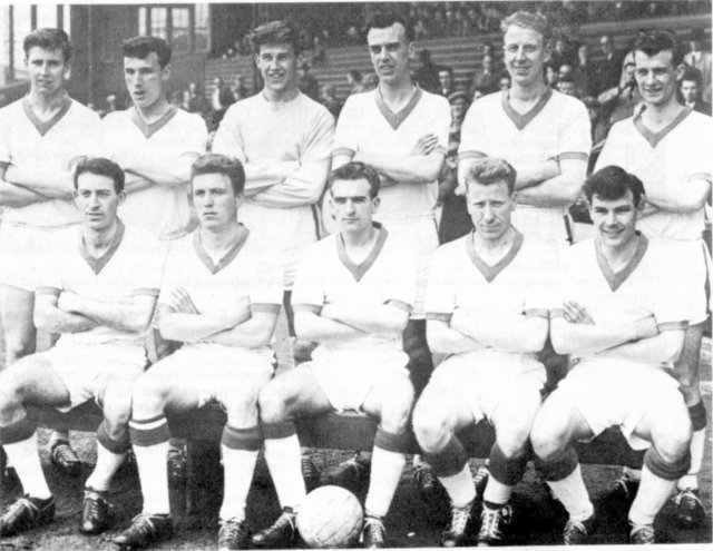 Glenafton Athletic 1962/63
