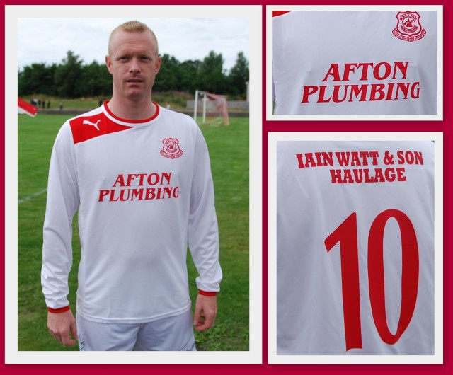 Glenafton Athletic Home Top 2013/14
