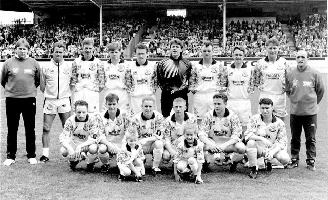 Glenafton Athletic 1992/93