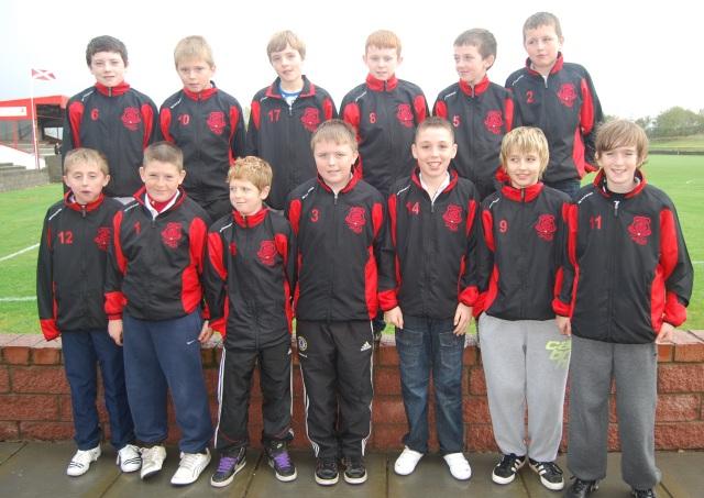 Glenafton Athletic U13's at Loch Park, 29/10/11