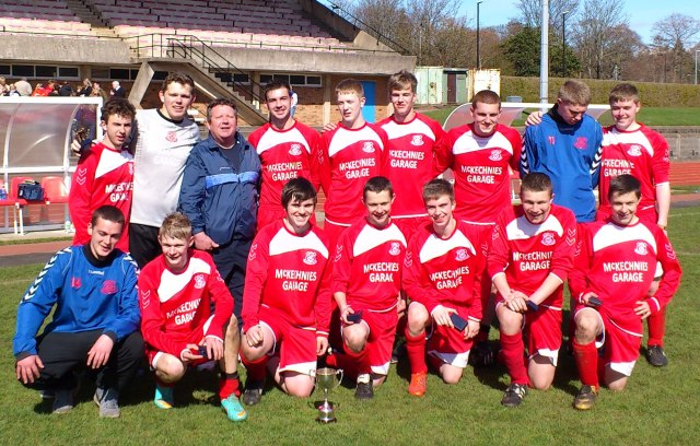 Glenafton U19 President Cup Winners