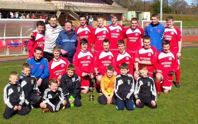 Glenafton with Rosebank U9s
