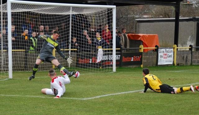 Ross Robertson disallowed goal