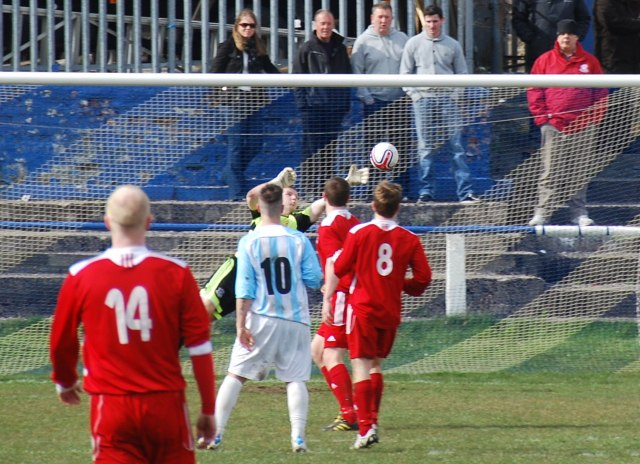 Mark Blakey's rocket finds the net