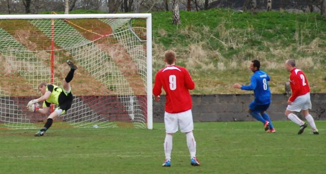 Ally Semple saves from Chris McKnight
