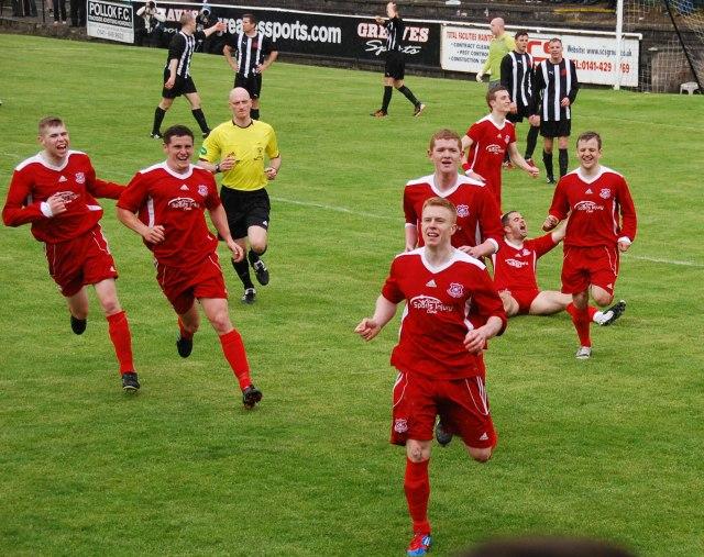 It's Millar time as Ryan puts Glens ahead