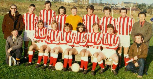 Glenafton Athletic ca. 1970-72