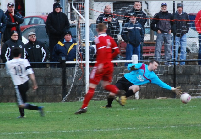 Robert Love gives Cumnock heart