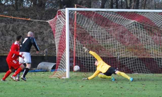 Craig Smith saves from Cameron Marlow