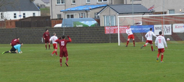 Sean McKenna equalises
