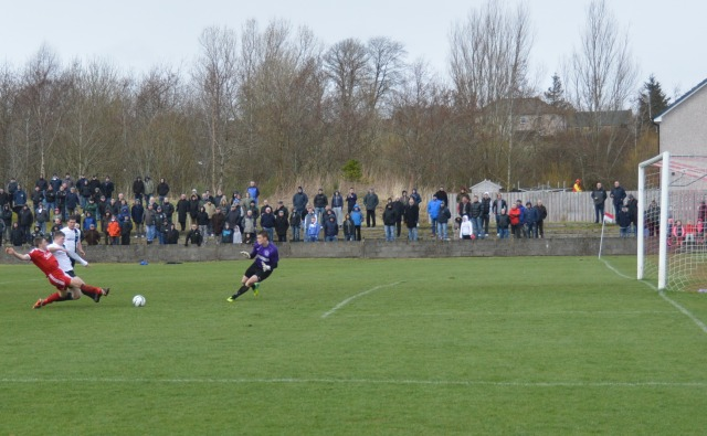 Aaron slots home the winner