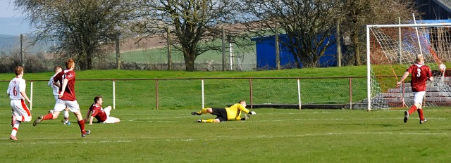 Darren McGill scores his first goal for the club