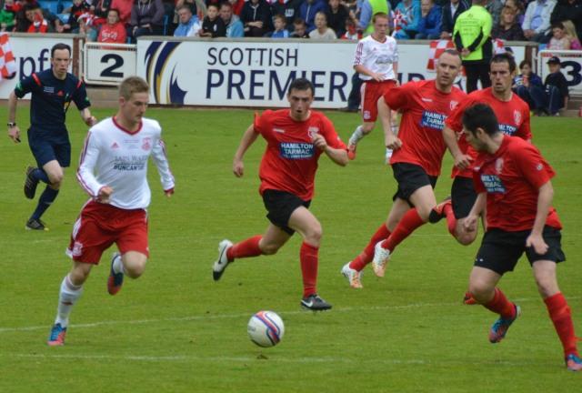 Darren McGill takes on Hurlford