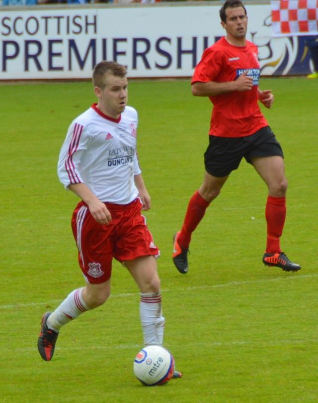 Jamie McKernon with Danny Mitchell