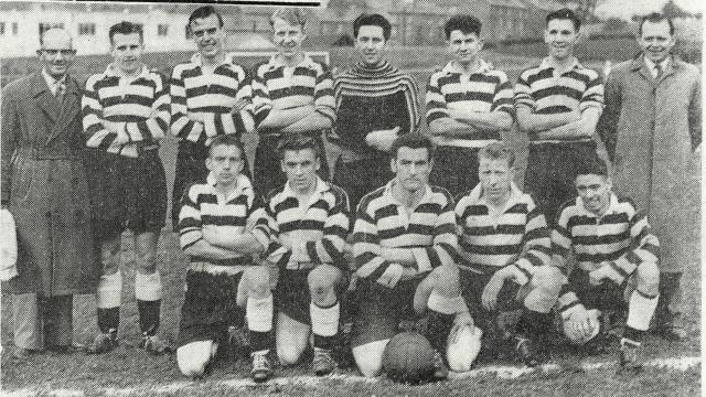 Glenafton Athletic 1958/59