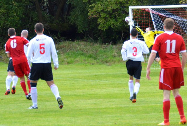 Cameron Marlow curls home the equaliser