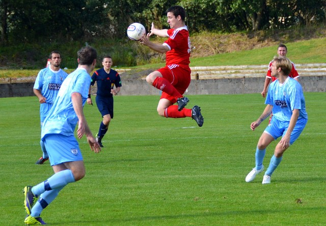 Alian Kinney airborne