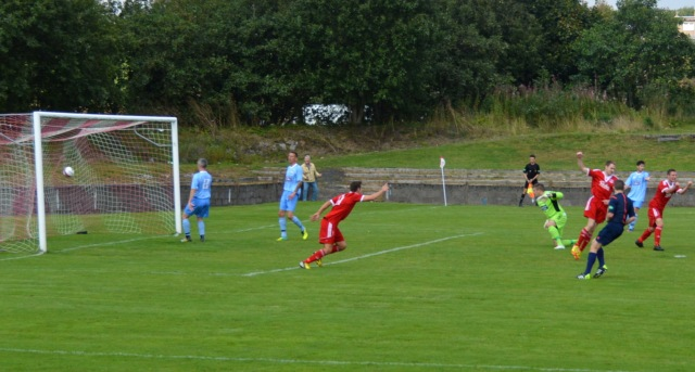 Michael Wardrope opens the scoring