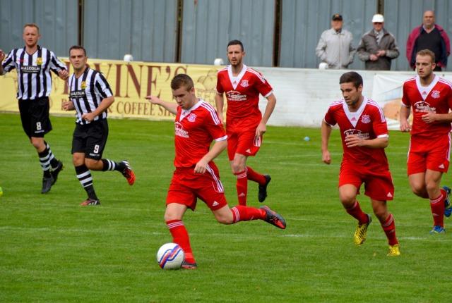 Jamie McKernon takes control
