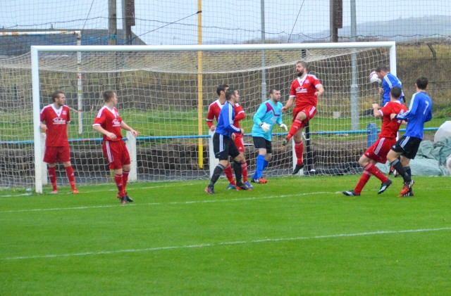 David Gillies heads home the opener