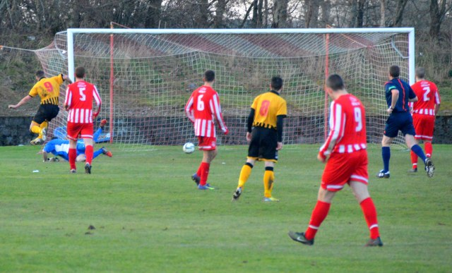 Graham Wilson slots home the second