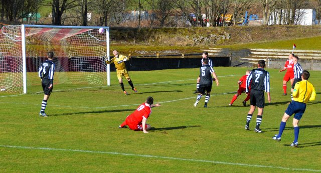 Darren McGill opens the scoring