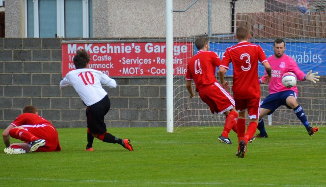 Brian McGarrity saves from Kevin Watt