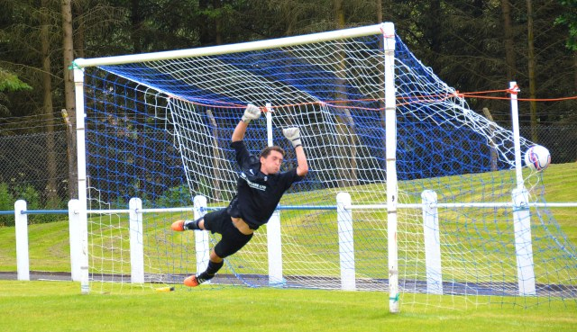 Darren McGill's strike finds the net