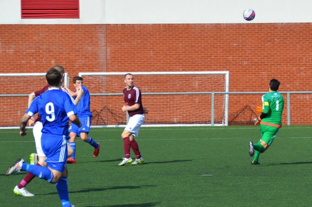Craig lands the equaliser