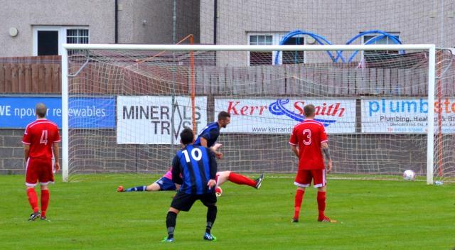 Ryan Innes opens the scoring