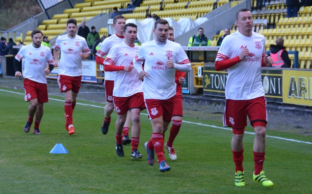 Glens warm up at Livi